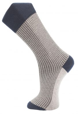 business-sokken-merino-wol-Houndstooth-615