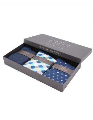 Effio-sokken-gitftbox-Blue-Classic