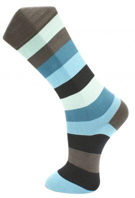 Effio Heren Sokken Big Stripe 0035