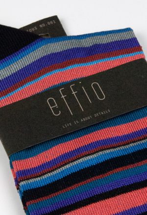 Effio-Gestreepte-Blauwe-Heren-Sokken-Glorious 061