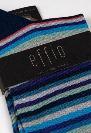 Effio-Gestreepte-Blauwe-Heren-Sokken-Uniform 516