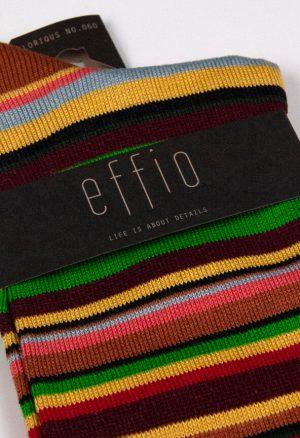 Effio-Gestreepte-Bruine-Heren-Sokken-Glorious 060
