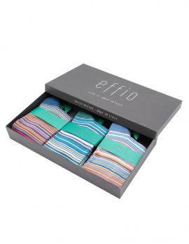 Ladies-Socks-Giftbox-Stripe