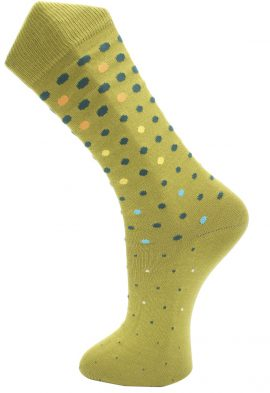 Effio Heren Design Sokken Dots Sparkling 0010