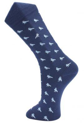 Effio Heren Design Sokken Peacock 0013