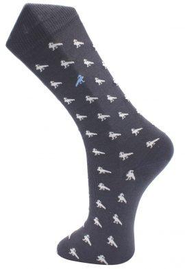 Effio Heren Design Sokken Peacock 0014
