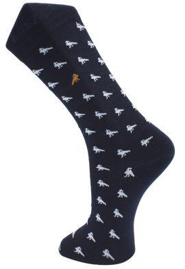 Effio Heren Design Sokken Peacock 0015