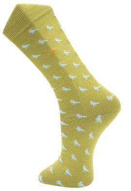 Effio Heren Design Sokken Peacock 0018