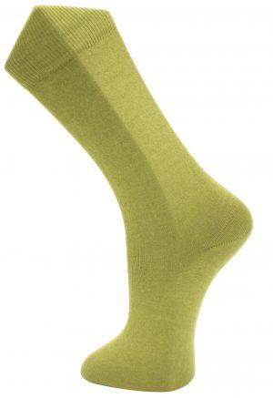 Effio effen mosterd groene sokken 0019