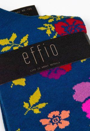 Effio-Bloemen-Blauwe-Sokken-Floral-702