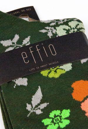 Effio-Bloemen-Groene-Sokken-Floral-923