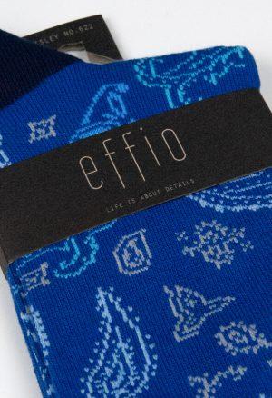 Effio-Design-Blauwe-Sokken-Paisley-622