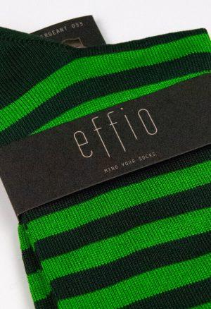 Effio-Gestreepte-Groen-Sokken-Sergeant-0033
