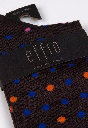 Effio-Stippen-Bruine-Sokken-Dots-Sparkling-0012