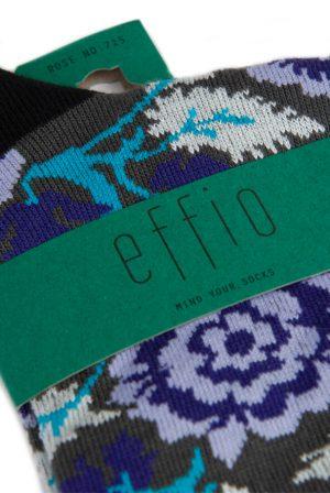 Effio-dames-sokken-bloemen-Rose-715