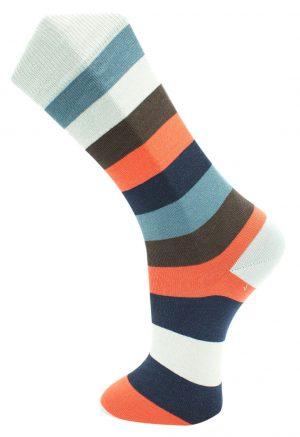 Effio-Gestreepte-Heren-Sokken-Big Stripe 0040