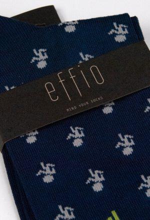 Effio-Triathlon-Blauwe-Heren-Sokken-Running 42