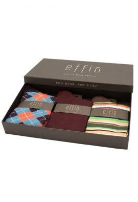 Effio Giftbox Heren Sokken Praag