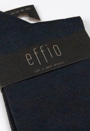 Effio-Effen-Heren-Sokken-antraciet Solid 503
