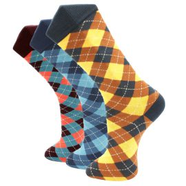 3Pack Diamond Effio Socks
