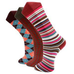 3Pack United Red Effio Socks