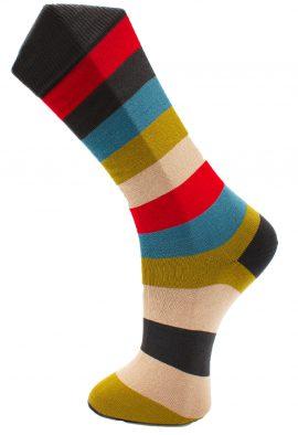 Effio-Gestreepte-Heren-Sokken-Big Stripe 041