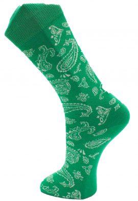 Effio-Heren-Design-Sokken-Paisley Groen