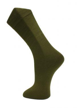 Effio-Effen-Heren-Sokken-Khaki-Solid-2130